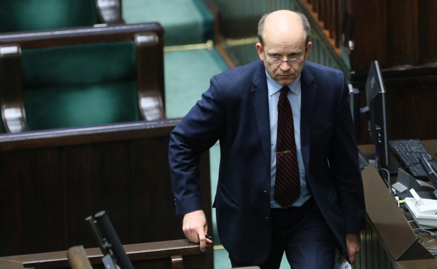 Minister zdrowia Konstanty Radziwiłł podczas posiedzenia Sejmu