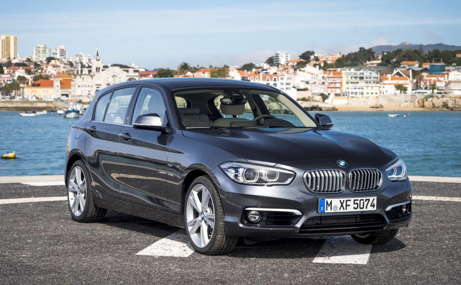 BMW serii 1 - 5. miejsce w zestawieniu