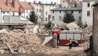 Ruiny domu w Świebodzicach