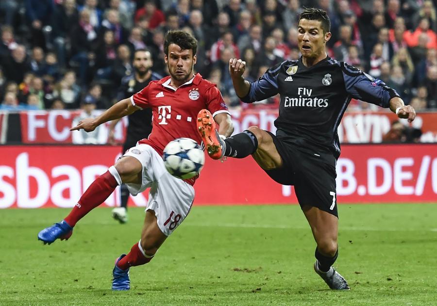 Cristiano Ronaldo i Juan Bernat