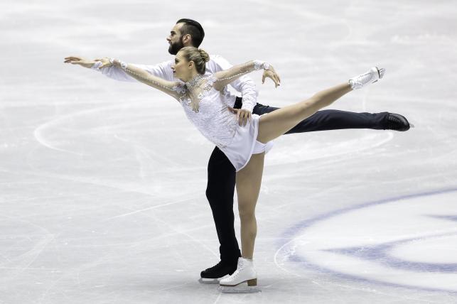 Ashley Cain i Timothy LeDuc