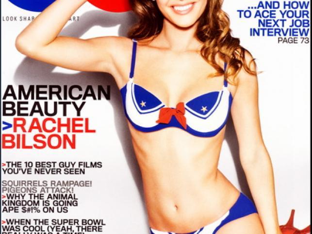 """Oto kolejna porcja gorących okładek według Celebrity Snap! Na pierwszym miejscu Rachel Bilson w lutowym """"GQ"""""""