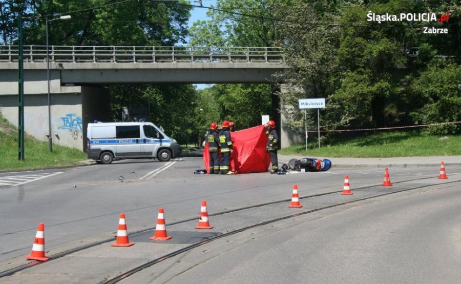 Zginął czterolatek wieziony przez ojca motocyklem