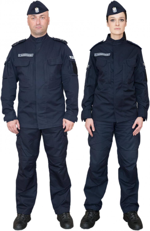 Nowe mundury policjantów prewencji