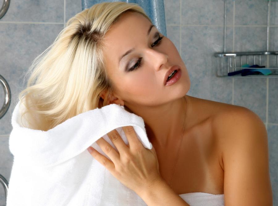 Umyj włosy na sucho