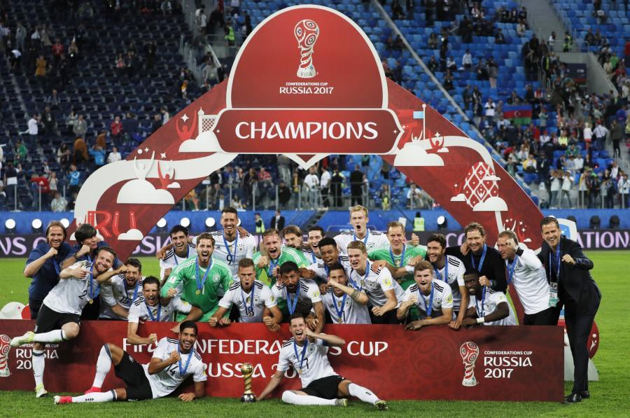 Niemcy zdobyli Puchar Konfederacji