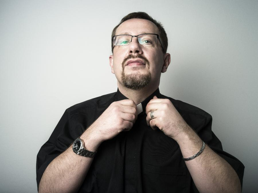 ksiądz Adam Marek Pergół, fot. Darek Golik