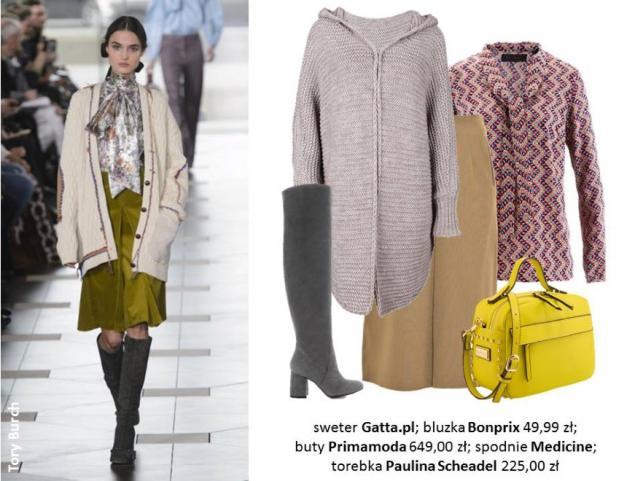 c7745b965a36 Obowiązkowy element jesiennej garderoby  swetry oversize. STYLIZACJE ...