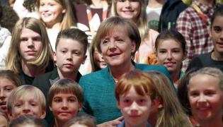 Angela Merkel i dzieci