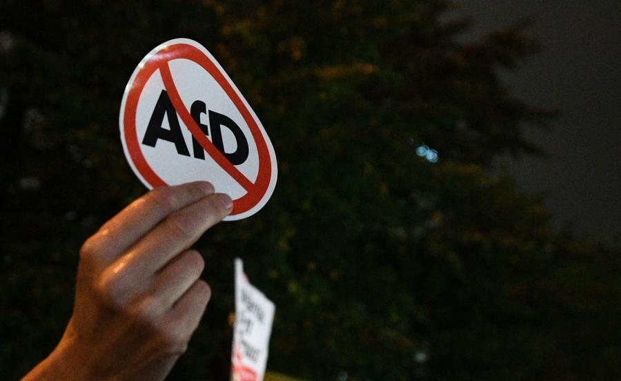 Protesty przeciwko AfD