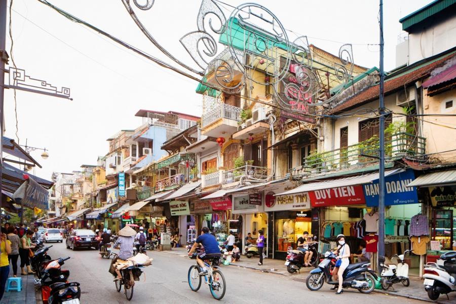 Urzekające kolorami Hanoi