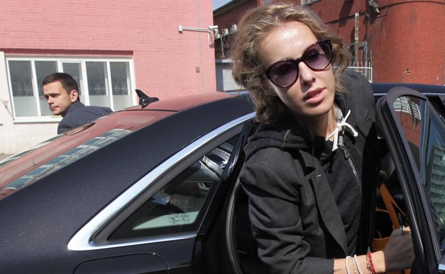 Ksenia Sobczak rywalką Władimira Putina