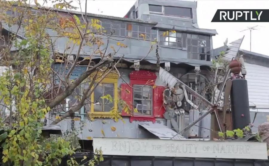 Dom ze śmieci