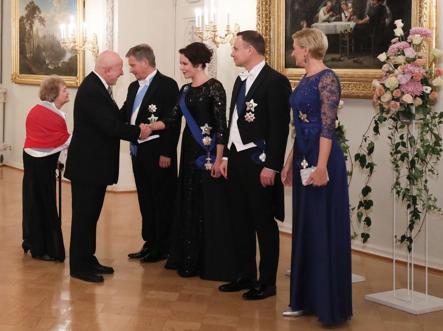 Sauli Vainamo Niinisto; Agata Kornhauser-Duda