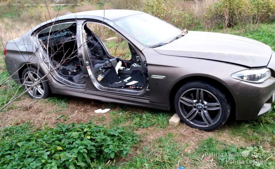 Tyle zostało z BMW serii 5 wartego 180 tys. zł