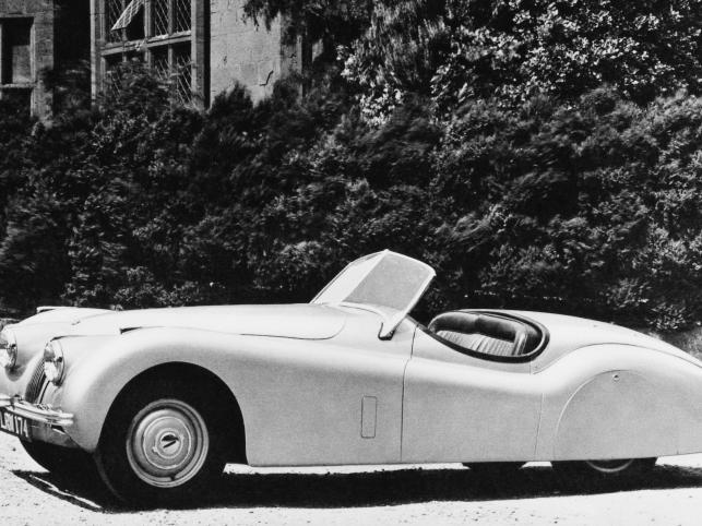 XK120 Roadster, 1948