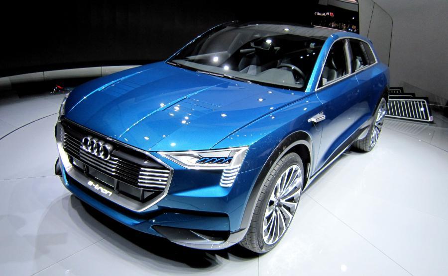 Audi e-tron quattro concept zaprojetowany przez Kmilla Łabanowicza