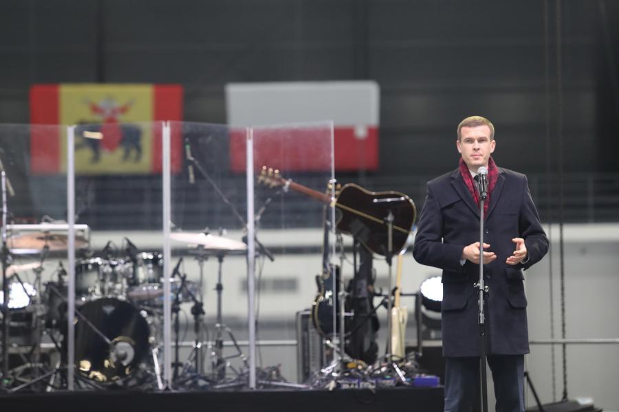 Minister sportu i turystyki Witold Bańka