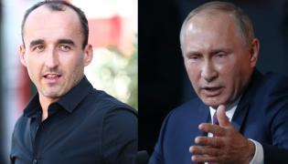 Władimir Putin i Robert Kubica