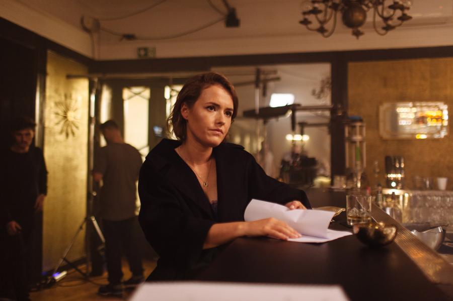 Olga Frycz w serialu \