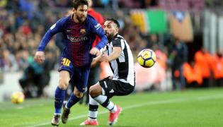 Leo Messi i Ivi Lopez