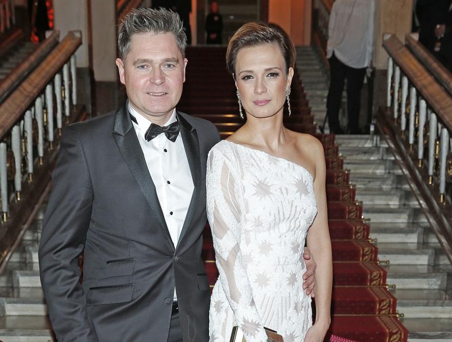 Paulina Chylewska z mężem