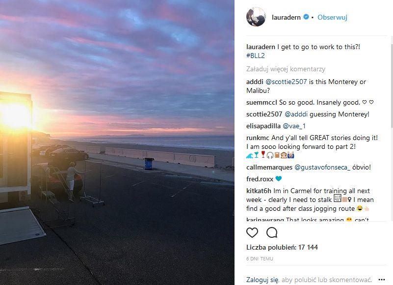 Wielkie Kłamstewka 2 - Laura Dern pokazała zdjęcie z planu