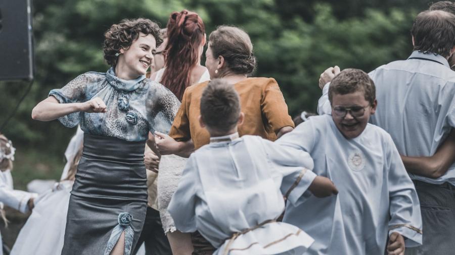 """Kadr z filmu """"Twarz"""" fot. Bartosz Mrozowski"""
