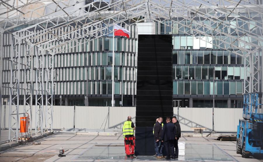 Warszawski pomnik ofiar katastrofy