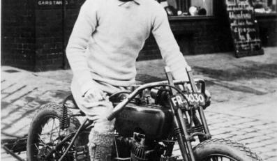 Firma Harley Davidson ma ponad stuletnią tradycję. Tu motocykl wyścigowy z lat 20.