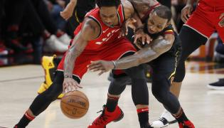 DeMar DeRozan i LeBron James