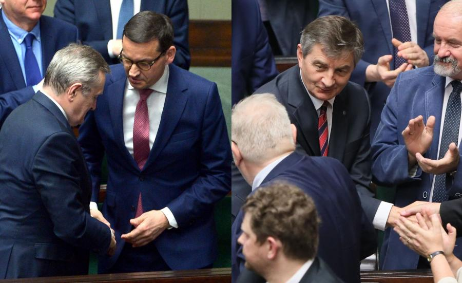 Piotr Gliński i Marek Kuchciński