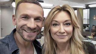Przemysław Kossakowski i Martyna Wojciechowska
