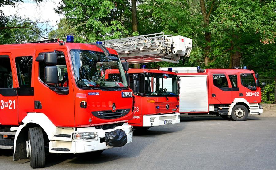 Wozy bojowe straży pożarnej