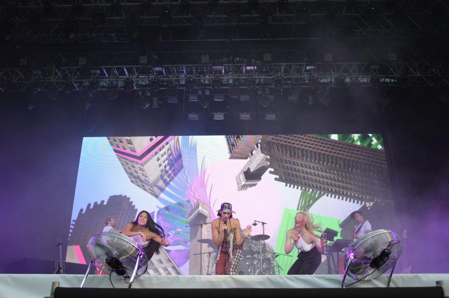 Dua Lipa podczas Orange Warsaw Festival. 1 czerwca 2018