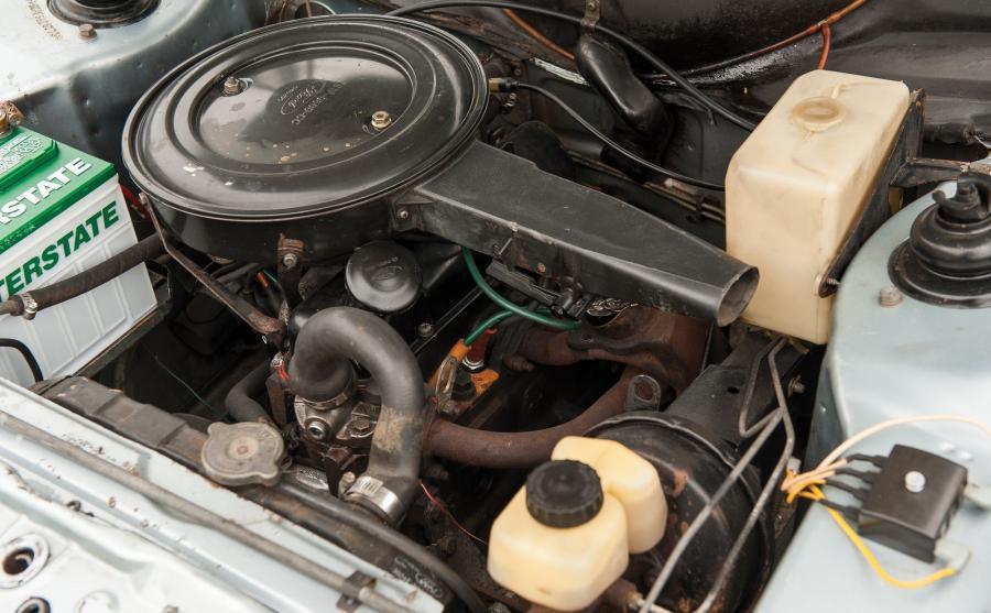 Silnik benzynowy 1,1 l gwarantował ok. 42 KM mocy i pozwalał rozpędzić się do ponad 120 km/h