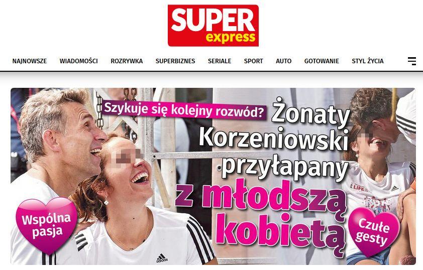 Robet Korzeniowski / Super Express