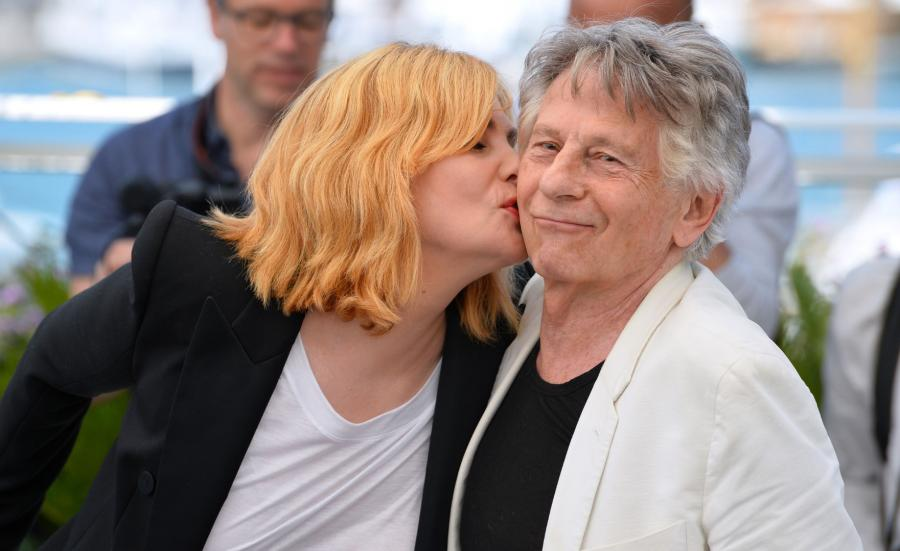 Emmanuelle Seigner i Roman Polański