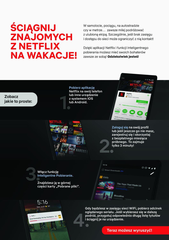 Ściągnij znajomych z Netflixa