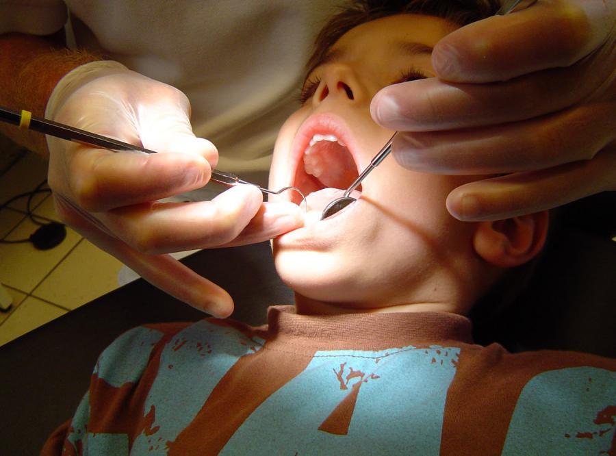 Żeby dziecko nie cierpiało u dentysty...
