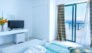Pokój hotelowy w Grecji