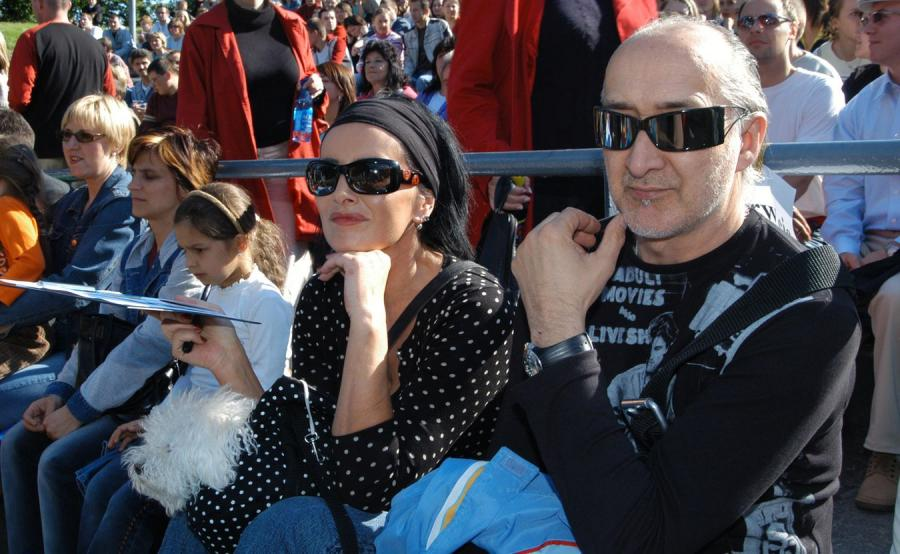 Marek Jackowski i Kora Jackowska