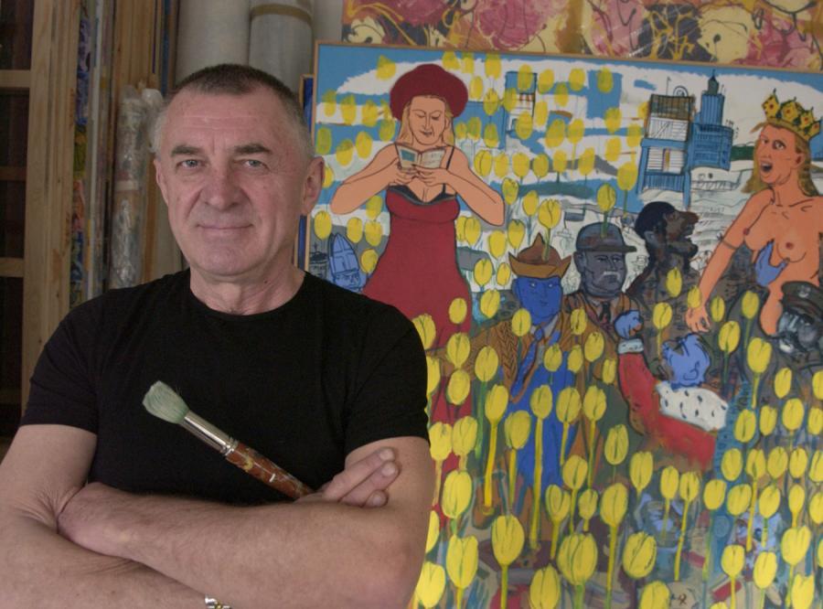 Edward Dwurnik namalował własny \