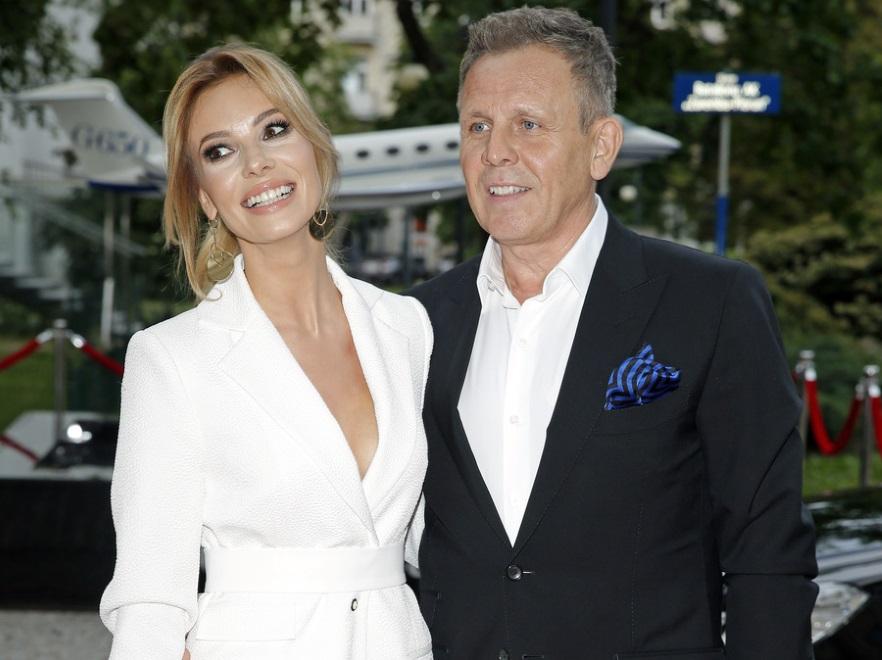 Izabela Janachowska i Krzyszof Jabłoński
