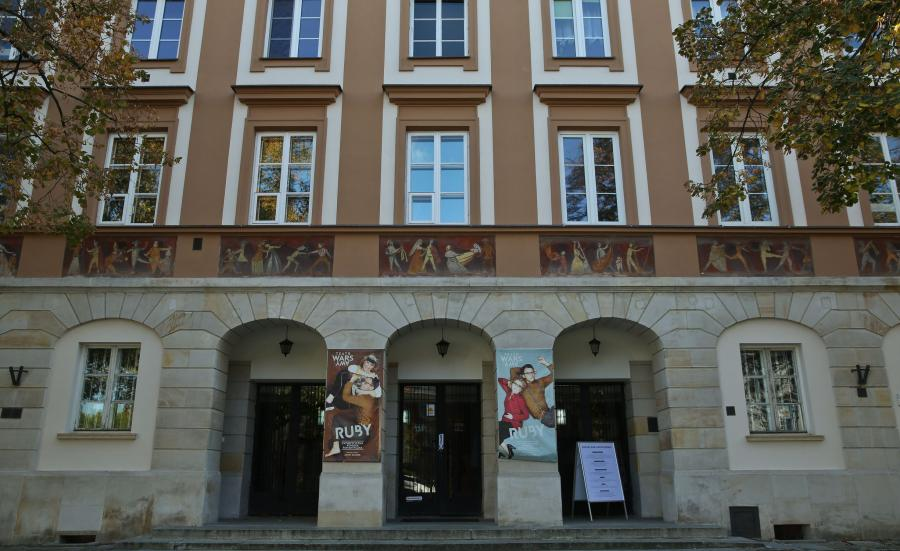 Budynek dawnego kina Wars przy Rynku Nowego Miasta