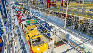 Produkcja Fiata 500 w Tychach