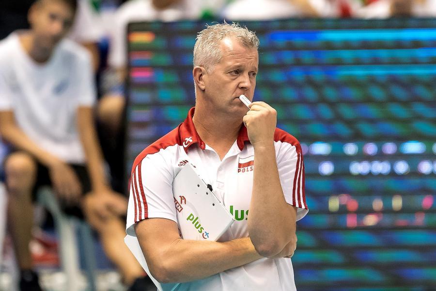 Trener reprezentacji Polski Vital Heynen