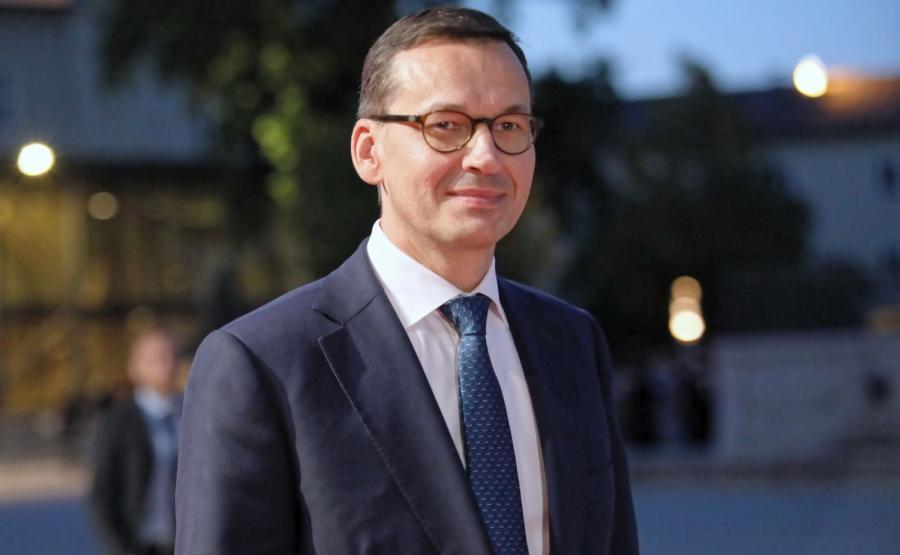 Mateusz Morawiecki w Salzburgu