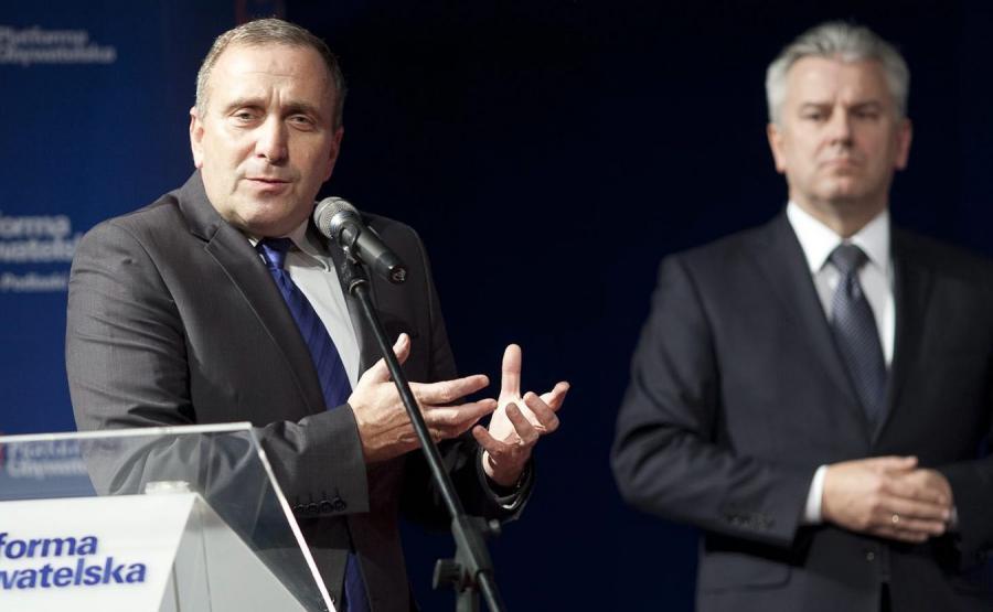 Grzegorz Schetyna i Cezary Grabarczyk