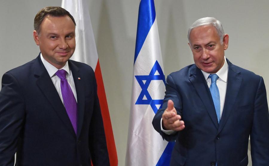 Prezydent Duda i Premier Netanjahu